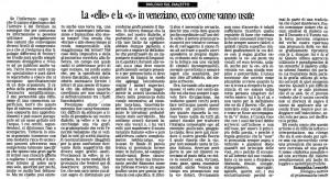 La nuova venezia 111109